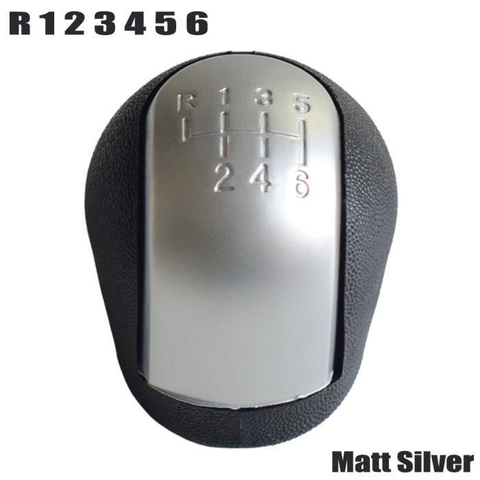 Pièces Auto,Pommeau de levier de vitesse avec botte de guêtre pour Opel Vectra C B Corsa Astra G SIGNUM Combo 02 - Type 6-Matt-Hand