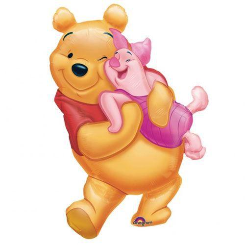 Ballon Winnie et Porcinet Non Gonflé