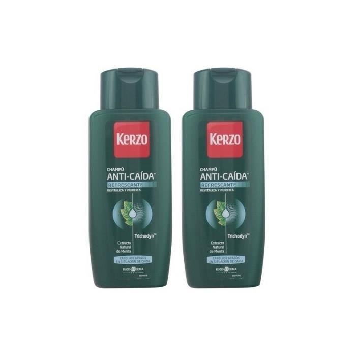 Le coffret contient:- 2x Shampooing Anti-Chute Cheveux Graisseux 400ml