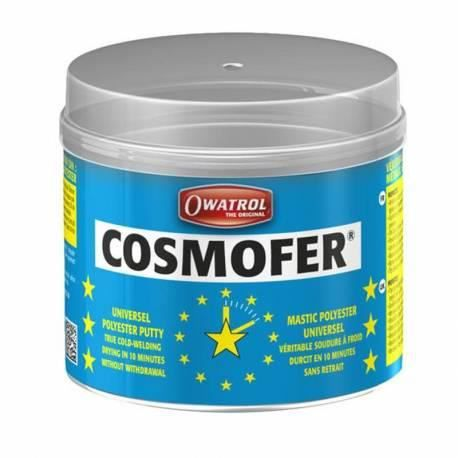 Mastic bi-composant polyester COSMOFER® OWATROL - 250 g