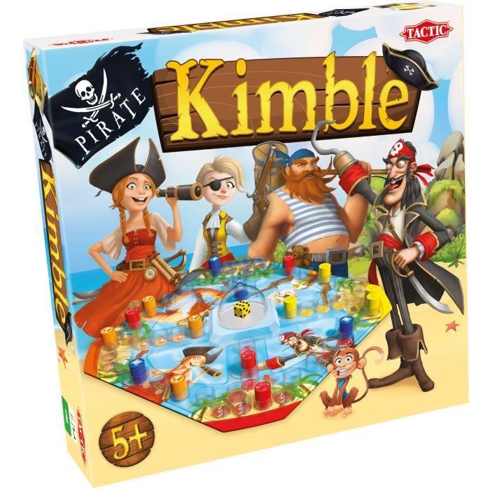 TACTIC - Pirate Kimble - le jeu des petits chevaux