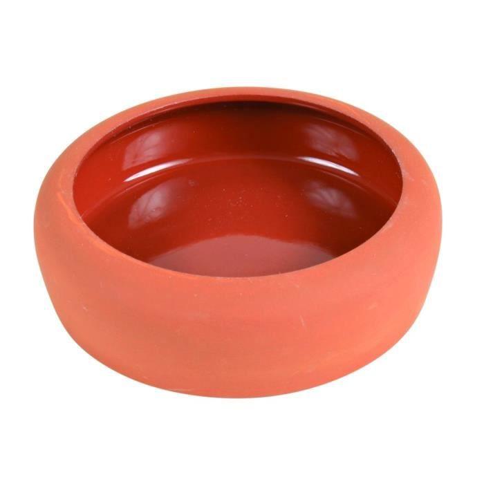 TRIXIE Ecuelle céramique avec bord arrondi 250 ml/ø 13 cm pour rongeurs
