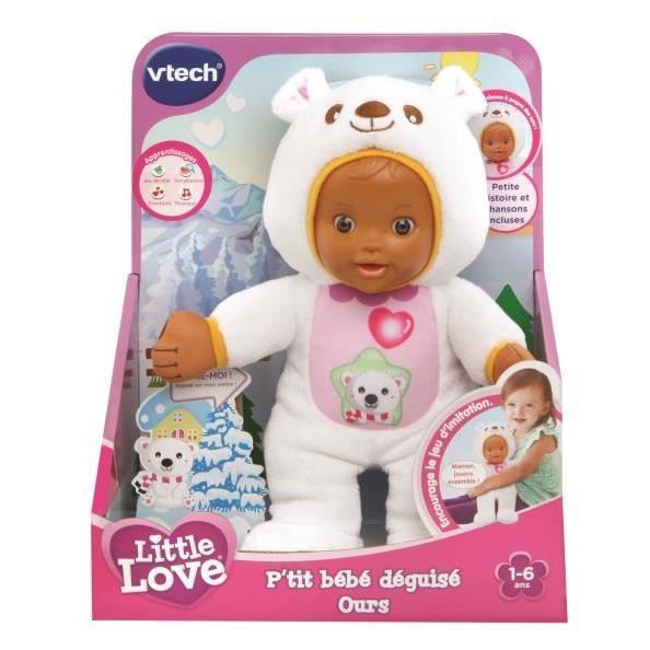 Little Love Ptit Bebe Deguise Ourson VTECH