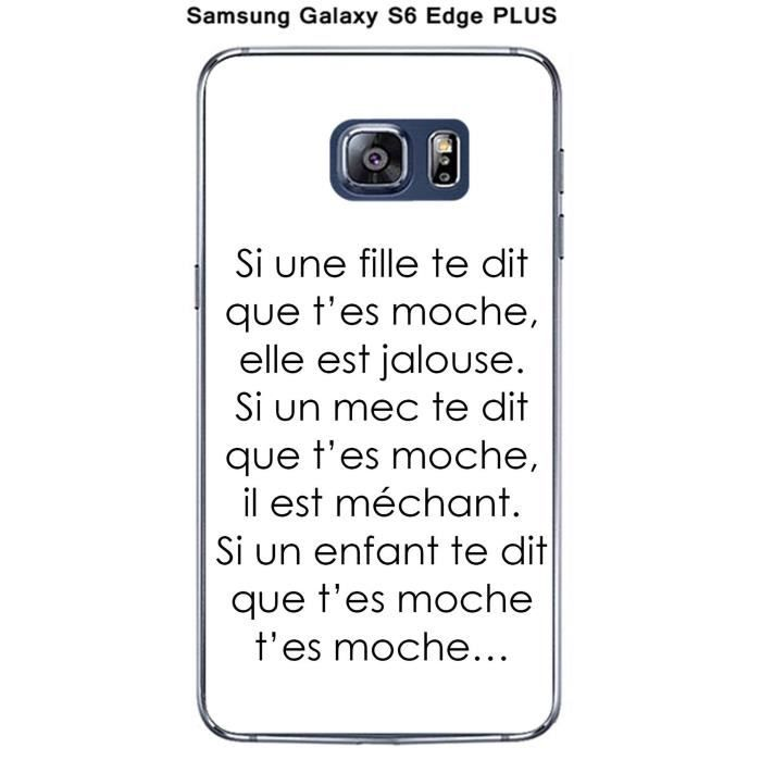 coque galaxy s6 fille