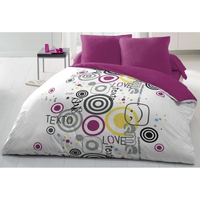 couette microfibre 220x240 cm sms texto achat vente couette cdiscount. Black Bedroom Furniture Sets. Home Design Ideas