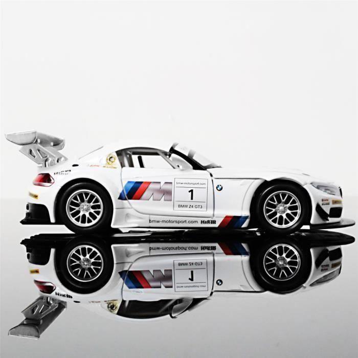 modèle échelle 1//32 bleu Burago-BMW Z4 M Coupé