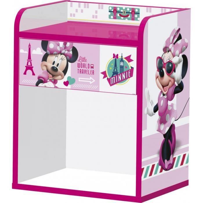 Table De Chevet Bois 50cm Disney Minnie Achat Vente Chevet