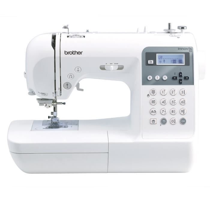 Machine coudre brother nv55 garantie 5 ans achat for Machine a coudre 97010