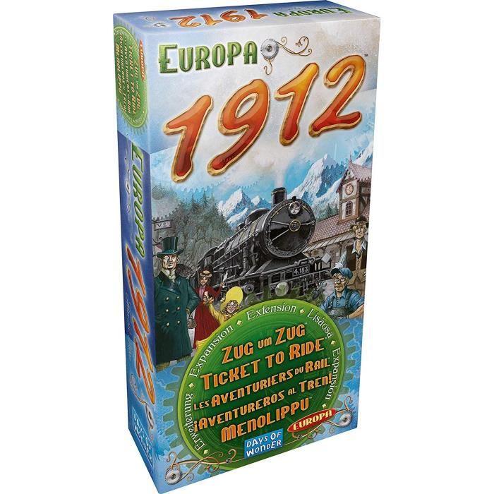 Jeu de Stratégie Extensi... Les Aventuriers du Rail Europe AVE07 Asmodee