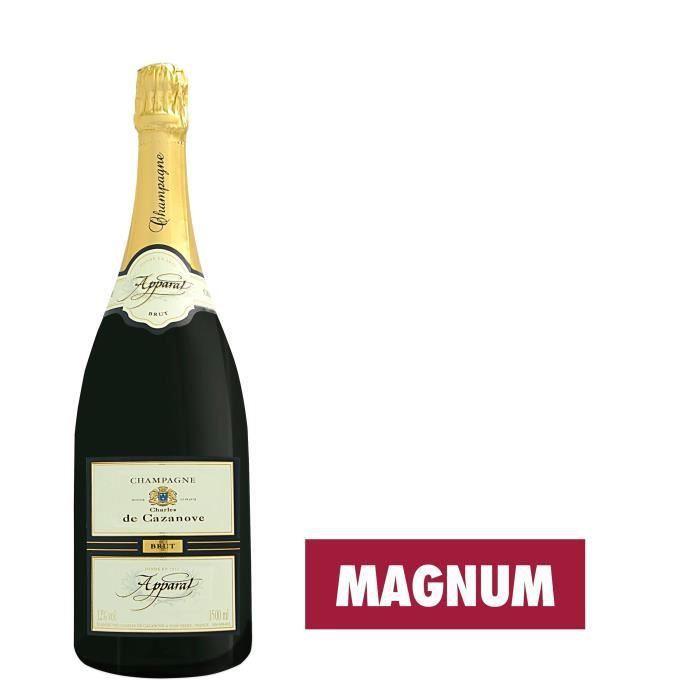 CHAMPAGNE GH MARTEL Cazanove Apparat Champagne Brut - Blanc