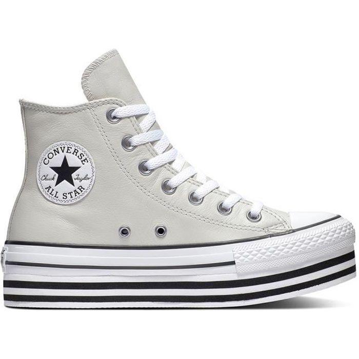 basket converse chuck taylor all star all hi gris