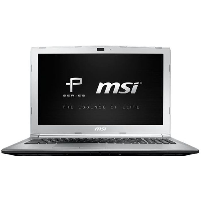ORDINATEUR PORTABLE MSI PL62 7RC 252FR Core i5 7300HQ Win 10 Pro 8 Go