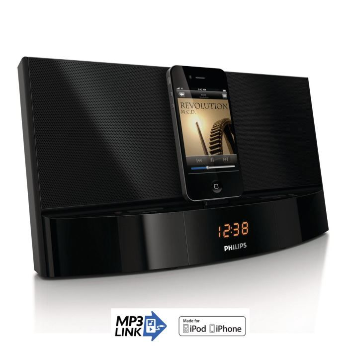 philips ad712 station d 39 accueil ipod iphone achat vente station d 39 accueil philips ad712. Black Bedroom Furniture Sets. Home Design Ideas