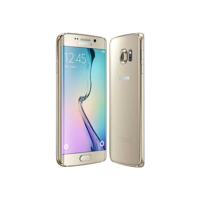 samsung galaxy s6 edge 32gb gold platinium achat. Black Bedroom Furniture Sets. Home Design Ideas
