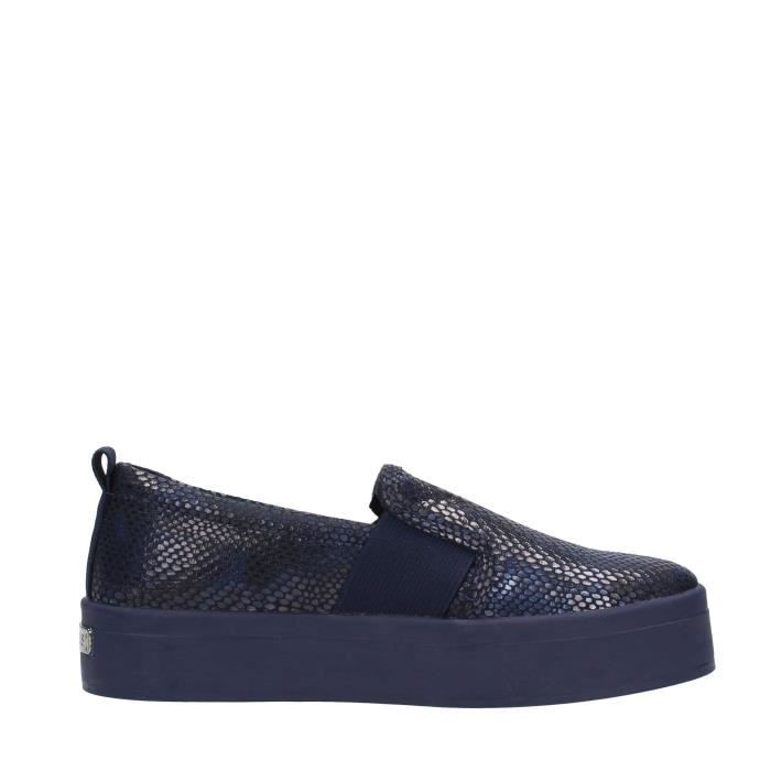 Guess Slip On Femme Black Blue