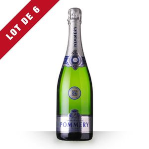 CHAMPAGNE 6X Pommery Apanage Brut 75cl - Champagne