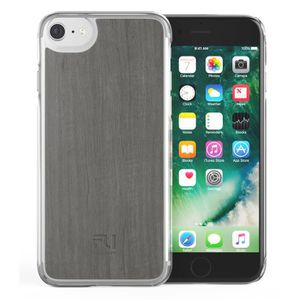 COQUE - BUMPER FOLLOW UP Coque Apple Iphone 6/6s/7 bois gris