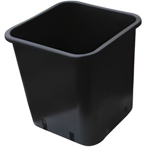 JARDINIÈRE - BAC A FLEUR Pot carré 18x18x23 6ltr