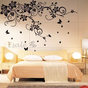stickers muraux achat vente stickers muraux pas cher cdiscount. Black Bedroom Furniture Sets. Home Design Ideas