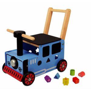 PORTEUR - POUSSEUR I'm toy - Porteur en bois pour bébé le petit train