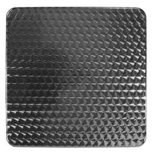 TABLE À MANGER SEULE Plateau de table en aluminium de couleur acier TT0