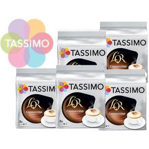CAFÉ Offre Tassimo L'Or Cappuccino ( 40 T-Discs) TU