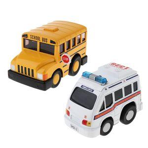 VOITURE ELECTRIQUE ENFANT VOITURE Jouet d'autobus scolaire 1 pièce  Jouet am