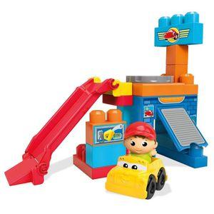 ASSEMBLAGE CONSTRUCTION Mega Bloks First Builders Spin N Go Garage Buildin