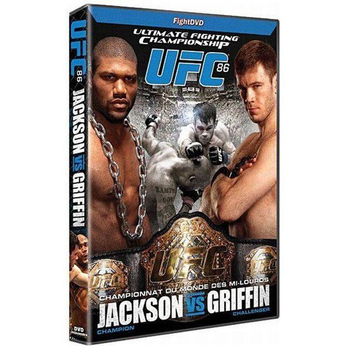 DVD UFC 86 - Jackson VS Griffin