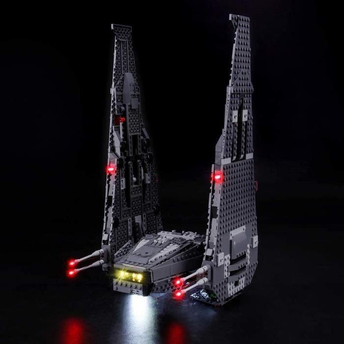 Jeux de construction BRIKSMAX Kit de LED pour Lego Star Wars Kylo Ren's Command Shuttle, Compatible avec la Maquette Leg 52775