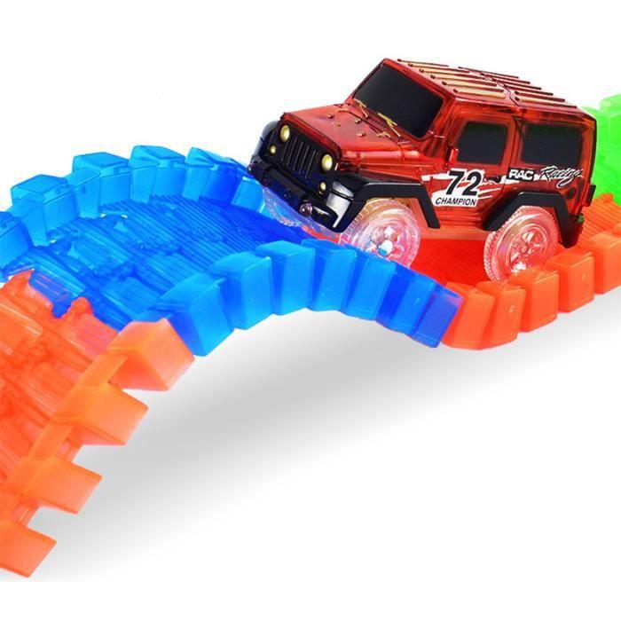 Magic track car