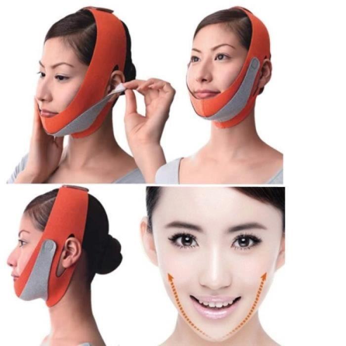 Appareil Multifonction De Soin - Colonne De Soin - 2 Pièces Outils De Lifting Du Visage Mince Masque Pour Le Visage Minceur Du