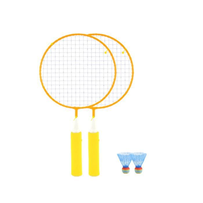 1 ensemble enfants raquette de Badminton élargir la Portable serrer le fil fournitures de BADMINTON RACKET - BADMINTON FRAME