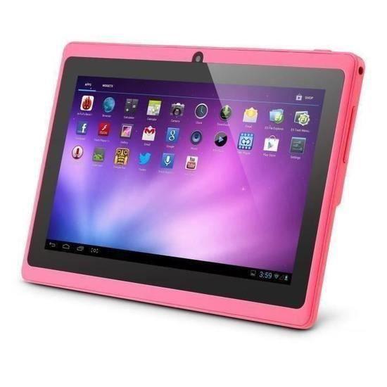 7 pouces Tablette Rose Enfant Q88 Tactile Android HD 8G