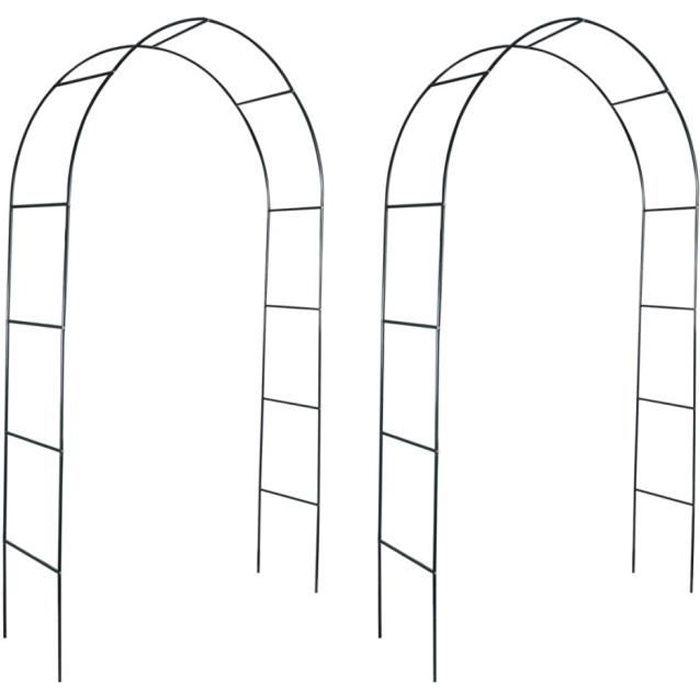 Arche de jardin arceau arcade jardin rosier -PAI