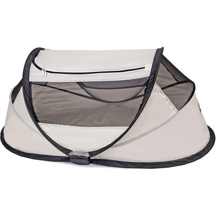 travel cot - lit de voyage - babybox - pop up - pliable - léger - déplié en seulement 2 secondes - avec moustiquaire et sac de tra