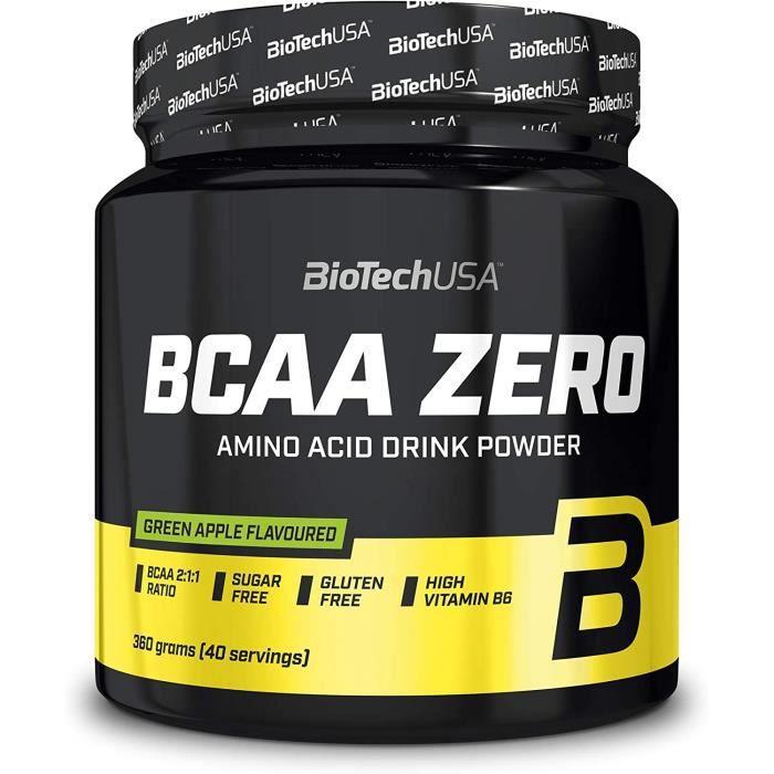BCAA Zero 360g POMME Biotech USA - Musculation Fitness