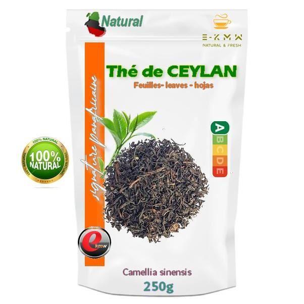 Thé de Ceylan - Signature panafricaine - 250g
