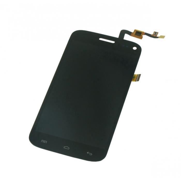 Ecran Complet WIKO DARKMOON Noir. LCD + TACTILE ASSEMBLE.