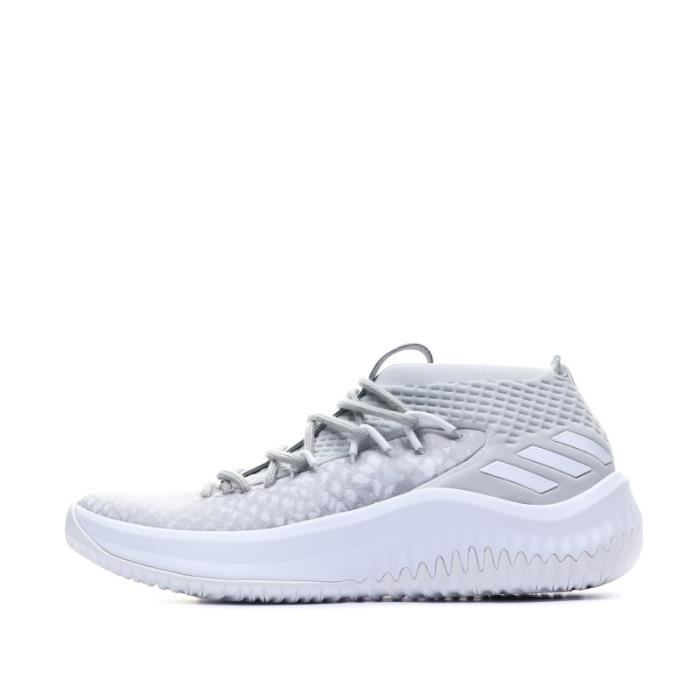 Dame 4 Homme Chaussures Basketball Gris Adidas