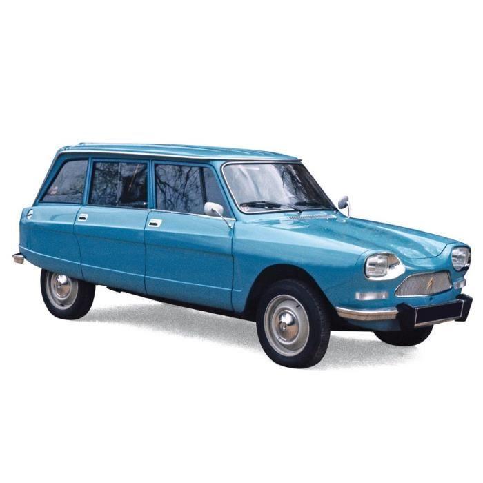 Véhicule Miniature assemble - Citroen Ami 8 Break bleu pétrel 1975 1/18 Norev