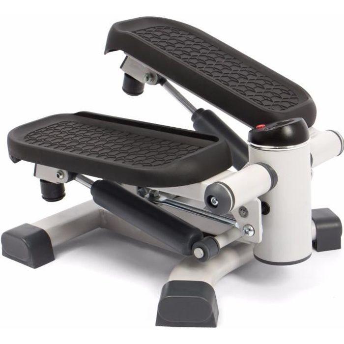 SportPlus - 2 in 1 Mini Stepper - Mouvements latéraux et horizontaux pour un Entraînement en profondeur