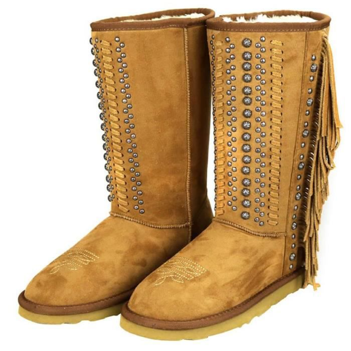 Montana West Native American pointure 37 - Bottes Bottines brodees Indien d'Amerique