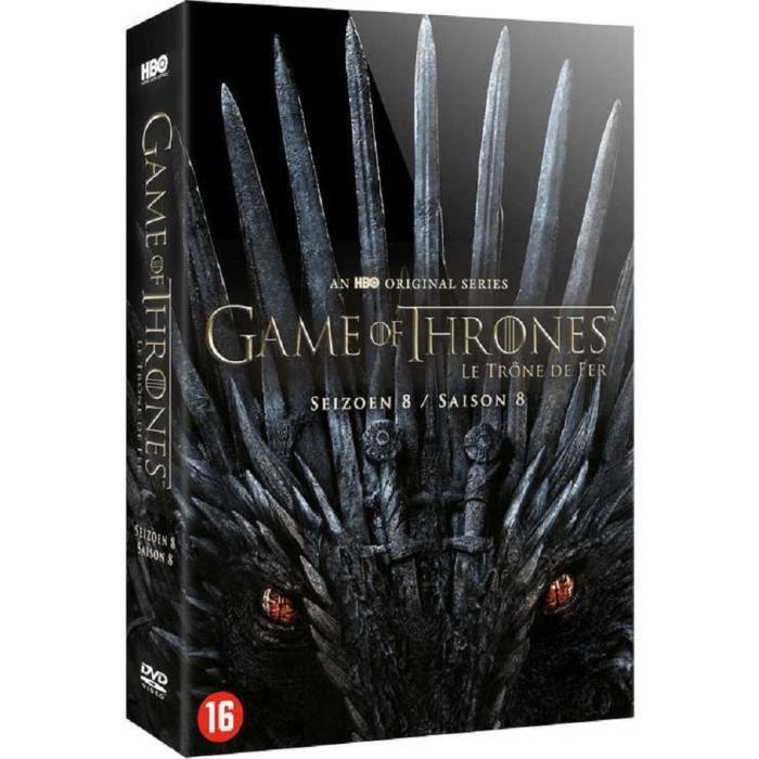 DVD SÉRIE Game of Thrones - Saison 8 Avec Version Francaise