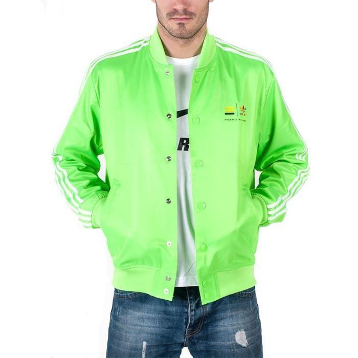 adidas veste femme verte