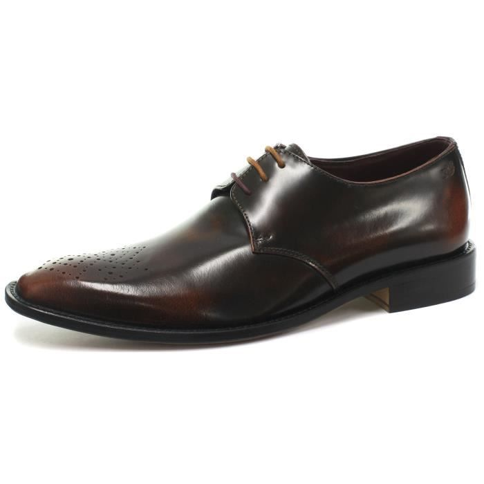 London Brogue richelieus Earl Derby Homme Mocassin