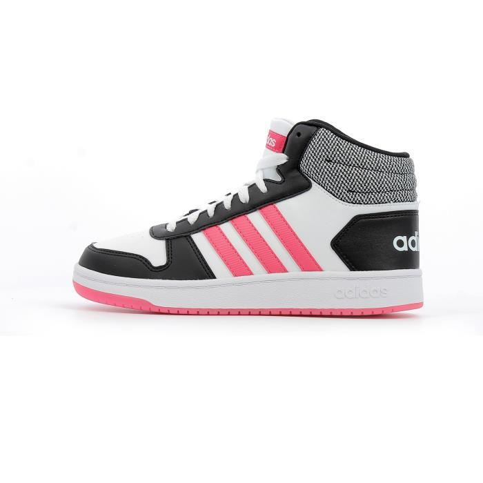 adidas hoops 2.0 cmf c chaussures de fitness mixte enfant
