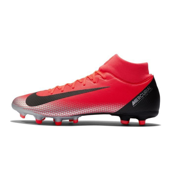 low priced 6409d 79bf1 Chaussures football Nike Mercurial Superfly VI Academy CR7 DF MG Rouge