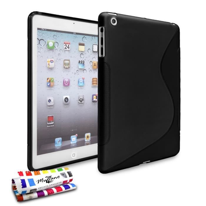 coque le s apple ipad mini 3 noir prix pas cher. Black Bedroom Furniture Sets. Home Design Ideas