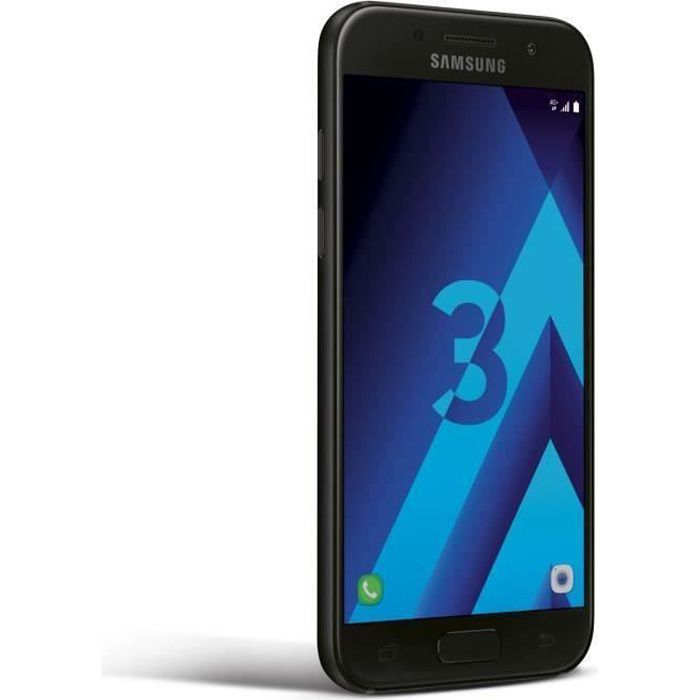 SMARTPHONE SAMSUNG Galaxy A3 2017 NOIR 16Go Occasion comme Ne